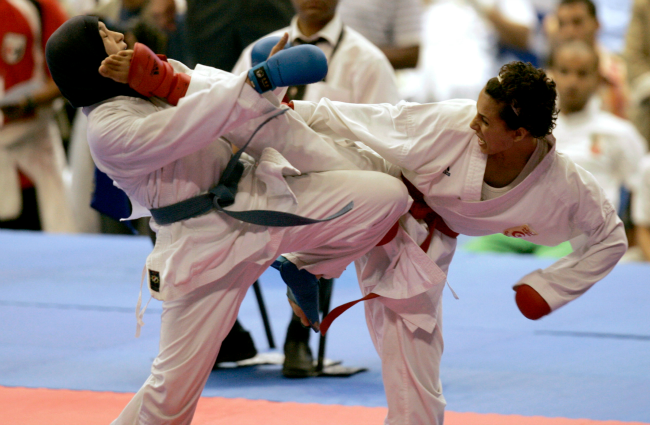 in egypt some women fight sexual harassment with karate chops